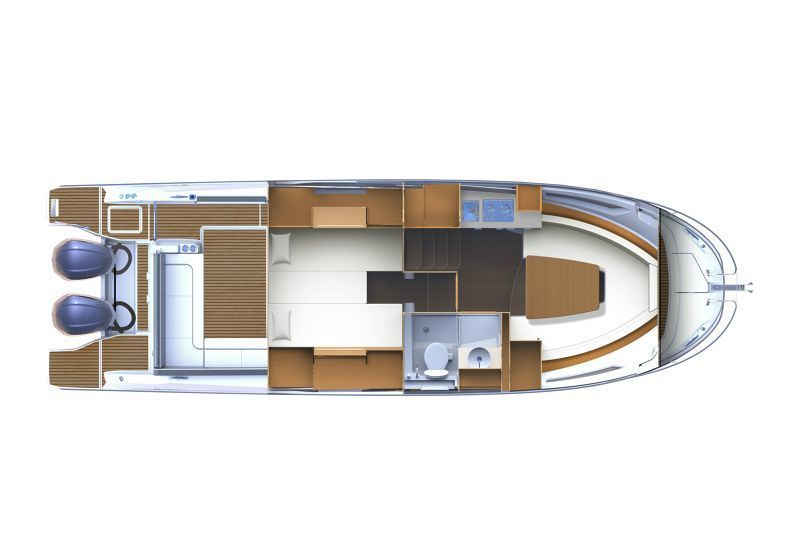 JEANNEAU CAP CAMARAT 10.5 WA SERIE 2, Pornichet Yachting
