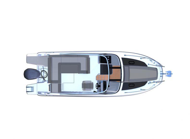 JEANNEAU CAP CAMARAT 7.5 DC, Pornichet Yachting
