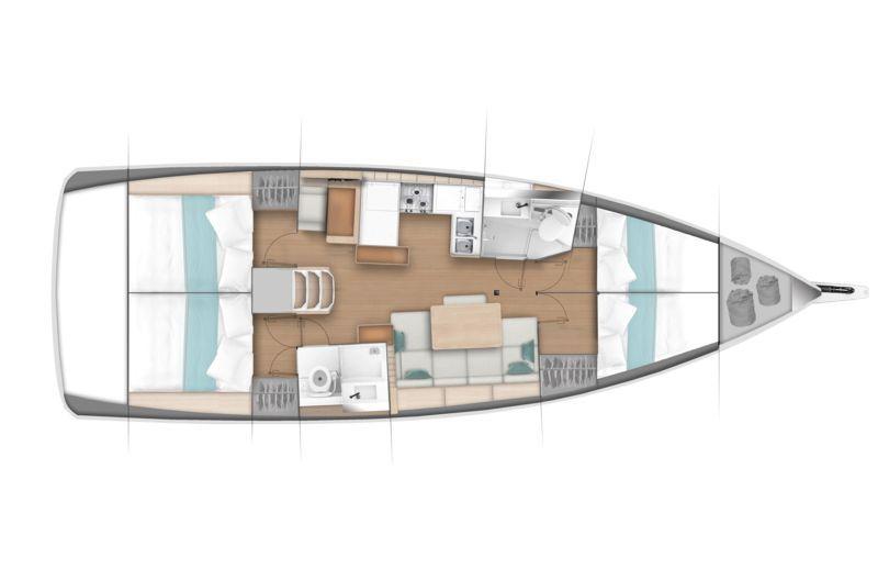 JEANNEAU SUN ODYSSEY 440 NEW, Pornichet Yachting