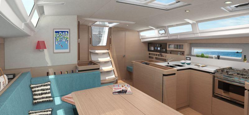 JEANNEAU SUN ODYSSEY 490 NEW, Pornichet Yachting