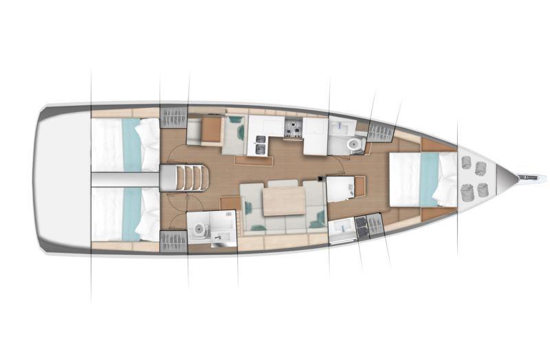 JEANNEAU SUN ODYSSEY 490 , Pornichet Yachting