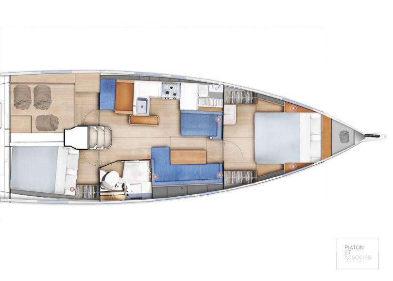 JEANNEAU SUN ODYSSEY 410, Pornichet Yachting