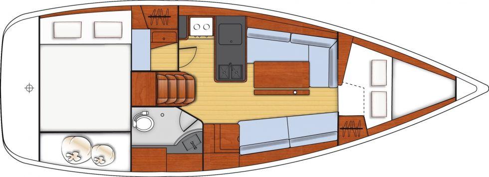 BENETEAU OCEANIS 31 DL, Pornichet Yachting