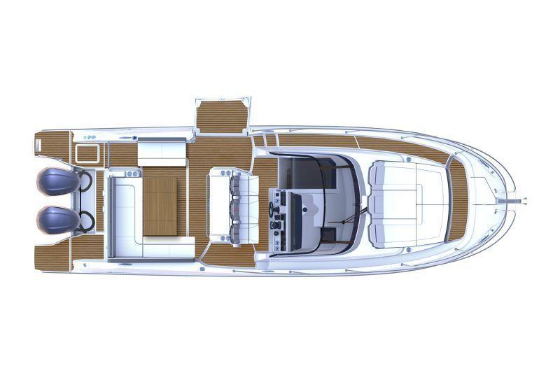 JEANNEAU CAP CAMARAT 10.5 WA S2, Pornichet Yachting